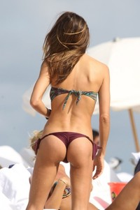 milf ass pic claudia galanti bikini ass again beach miami sexy milf