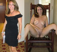 milf nudes cute milf before after bating dressed undressed nudes
