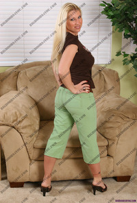 milf only pics devon lee milf sitting chair shows its charms like