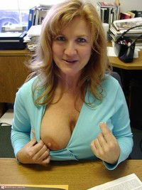 milf pic pod media milf office flash back work