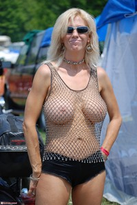 milf pics at pod media biker milf chainmail halter summer weight