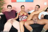 milf pics at milf stacie starr gives double handjob jerks off hubby step son same time