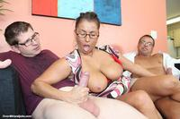 milf pics at busty milf stacie starr jerking off dudes once