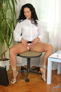 milf porn photo bfb busty office
