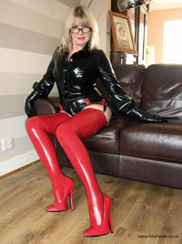 milf wife photo pvc latex fetish wife milf
