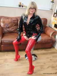 milf wife photos pvc latex fetish wife milf