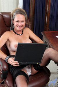 milfs moms matures milf porn anilos lovely busty mom strips front laptop