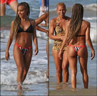 mom bikini pics jada pinkett smith thong bikini hawaii yes can wear age mom