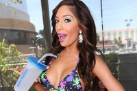 mom bikini pics farrah abraham bikini birthday teen mom star celebrates las vegas pool party entertainment photo attachment