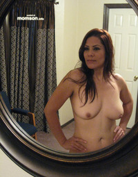 mom hot naked mom posing naked mirror hot