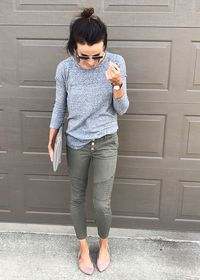 mommy nude pic blush sneaker outfit flats explore mom fashion