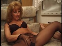moms in pantyhose porn watch dirty talking slut rubs clit sexy stiletto