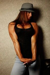 muscle mature porn athletic female models