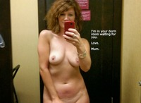 naked milf photos sexy milf naked bathroom selfie