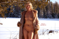 naked milf pic pics nude milf under fur coat