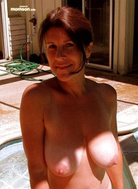 naked mom pics naked mom showing breasts pool