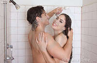 nude adult women photos naked man woman love kissing shower stock photo