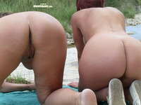 nude mom s nude moms doggystyle showing their asses butt