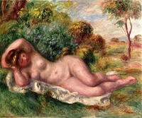 nude wife pictures pierre auguste renoir reclining nude baker wife