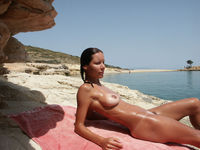 nudist milf pictures atb sexy milf nice body tans nudist beach
