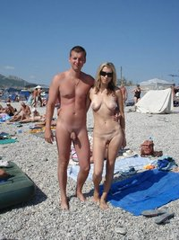 nudist mom photos photos nudist couple posing photo camera beach