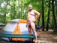 nudist photos mature mature nudist man camping