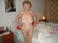 old lady porn gallery amateur porn this very old lady accepted pose all nude show photo