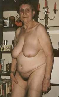 old mature naked granny elderly get horny