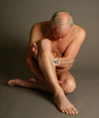 older black nude art mannequin naked gay grandpa older black man