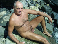 older nudist pics nude daddies showing off