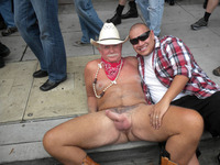 older nudist pics hot silver cowboy