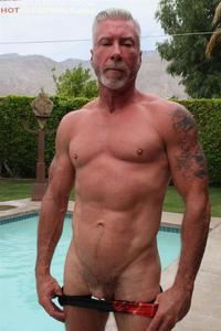 older porn pics hot older male dean burke silver daddy jerking his cock amateur gay porn introduces sexy daddies