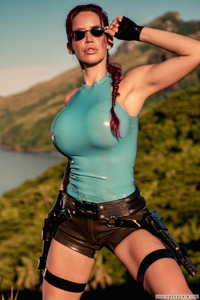 older women porn stars lara croft cosplay cleavage older women porn star