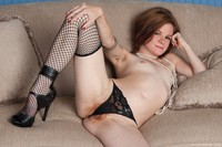 photo of milf zia elegant natural redhead milf