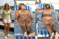 photos of naked moms naked mom sunbathing having sunbath