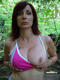 pics of moms with big tits mom bshowing bher bbig btits bin bthe bwoods seriously busty milf nickscipio pod media