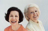 pics of older women older women laughing common myths about aging