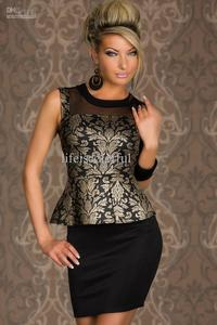 pics of sexy mature albu product sexy mature foil print peplum dress clubwear