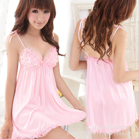 pics of sexy mature htb xxfxxxt women sexy summer spaghetti strap sleepwear pink lace princess nightgown lounge lingerie nightwear mature store product