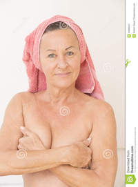 Naked Women Head Covered