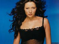 porn actress mature shannen doherty wavy hairs smilling