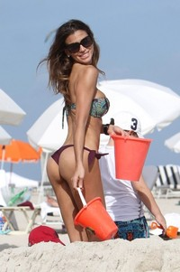 sexy mature bikinis claudia galanti bikini ass again beach miami entry