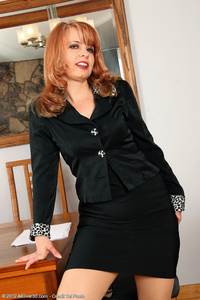 sexy mature milf gallery milf porn all over redheaded office getting sexy