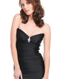 sexy mature dress charming sexy mature feminine smell short length crystal decorations cocktail shortlength