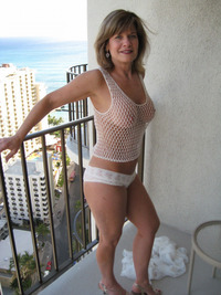 sexy mom pictures mom sexy pair panties balcony