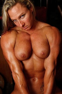 sexy naked mature woman muscle babes muscles