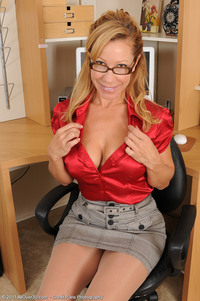sexy naked mature women galleries all over sexy office worker rachel gets naked work