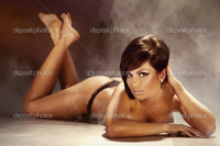 sexy naked pictures of women depositphotos sexy tanned brunette woman lying floor naked stock photo