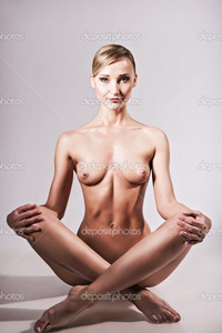 sexy naked pictures of women depositphotos nude shot sexy naked woman sitting yoga pose stock photo