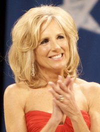 sexy older women pic wikipedia commons jill biden inaugural ball crop
